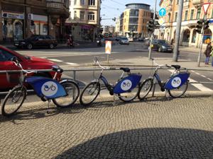 Wir vermieten Fahrräder, keine Werbeflächen.