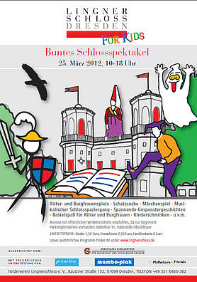 Buntes Schlossspektakel im Lingnerschloss