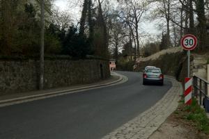 Die Schillerstraße wird zum eBike Terrain