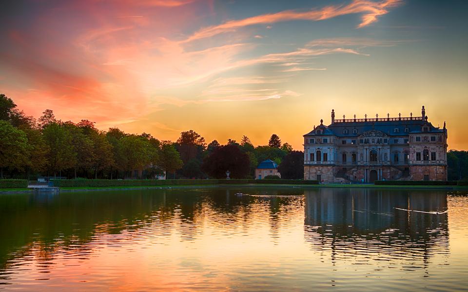 Sommerpalais im Großen Garten